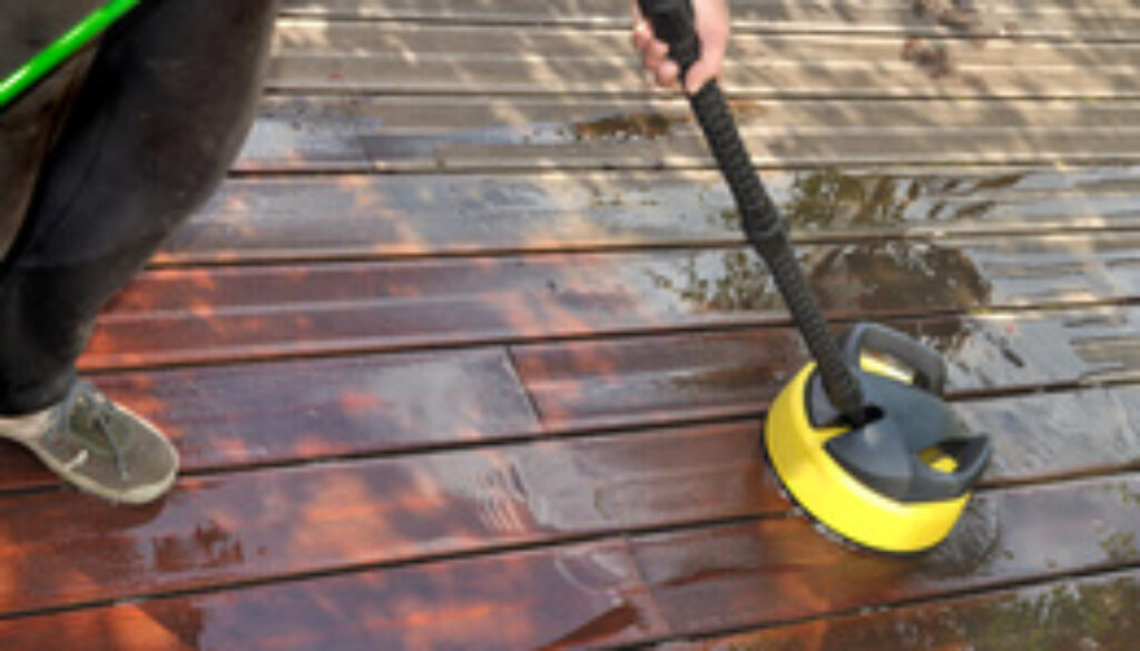 deck cleaning in bristol