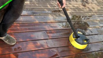 deck cleaning in bristol